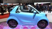 Smart fortwo Cabrio Brabus edition side at the Geneva Motor Show Live