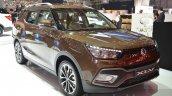 Ssangyong XLV front three quarters left at Geneva Motor Show 2016
