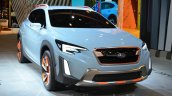 Subaru XV Concept front quarter at the Geneva Motor Show Live