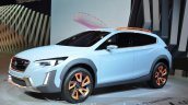 Subaru XV Concept front three quarter at the Geneva Motor Show Live