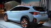 Subaru XV Concept rear three quarter at the Geneva Motor Show Live