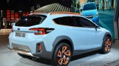 Subaru XV Concept rear three quarter right at the Geneva Motor Show Live