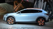 Subaru XV Concept side at the Geneva Motor Show Live
