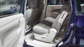 Suzuki Ertiga Dreza rear seat at 2016 BIMS
