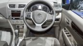 Suzuki Ertiga Dreza steering at 2016 BIMS