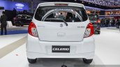 Suzuki (Maruti) Celerio with body kit rear at the 2016 BIMS