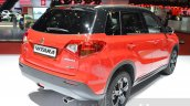 Suzuki Vitara S with 1.4L Boosterjet rear three quarter at Geneva Motor Show 2016