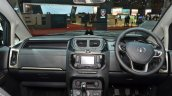 Tata Hexa Tuff dashboard at the 2016 Geneva Motor Show