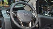 Tata Hexa Tuff steering wheel at the 2016 Geneva Motor Show
