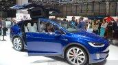 Tesla Model X at the Geneva Motor Show 2016