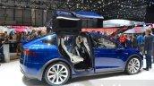 Tesla Model X side at the Geneva Motor Show 2016