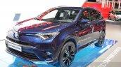 Toyota RAV4 Hybrid Sapphire front three quarters
