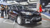 Toyota Vios Exclusive Edition front right three quarter at 2016 BIMS