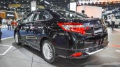 Toyota Vios Exclusive Edition rear three quarter at 2016 BIMS