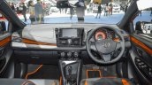 Toyota Yaris TRD Sportivo dashboard at 2016 BIMS