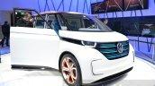 VW Budd-e Concept front quarter at the 2016 Geneva Motor Show Live