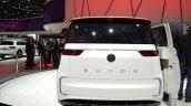 VW Budd-e Concept rear at the 2016 Geneva Motor Show Live