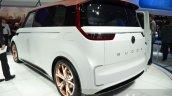 VW Budd-e Concept rear quarter at the 2016 Geneva Motor Show Live