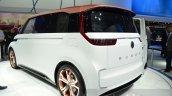 VW Budd-e Concept rear three quarter at the 2016 Geneva Motor Show Live