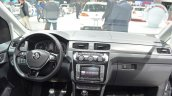 VW Caddy Alltrack dashboard at the 2016 Geneva Motor Show
