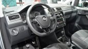 VW Caddy Alltrack interior at the 2016 Geneva Motor Show