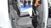 VW Caddy Alltrack rear seat at the 2016 Geneva Motor Show