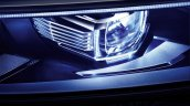 VW Phideon headlamp