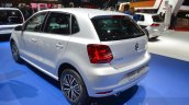 VW Polo Allstar rear three quarter at the 2016 Geneva Motor Show