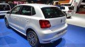 VW Polo Allstar rear three quarter at the 2016 Geneva Motor Show