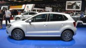 VW Polo Allstar side at the 2016 Geneva Motor Show