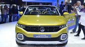 VW T-Cross Breeze concept front at the Geneva Motor Show Live
