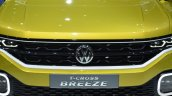 VW T-Cross Breeze concept grille at the Geneva Motor Show Live