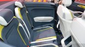 VW T-Cross Breeze concept rear seat at the Geneva Motor Show Live