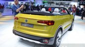 VW T-Cross Breeze concept rear three quarter at the Geneva Motor Show Live