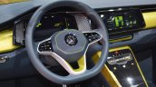 VW T-Cross Breeze concept steering wheel at the Geneva Motor Show Live
