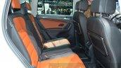 VW Tiguan rear seat at the 2016 Geneva Motor Show