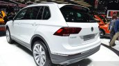 VW Tiguan rear three quarter at the 2016 Geneva Motor Show