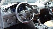 VW Tiguan steering wheel at the 2016 Geneva Motor Show