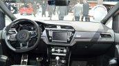 VW Touran R-Line dashboard at the 2016 Geneva Motor Show Live