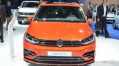 VW Touran R-Line front at the 2016 Geneva Motor Show Live