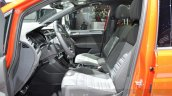 VW Touran R-Line front cabin at the 2016 Geneva Motor Show Live