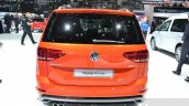 VW Touran R-Line rear at the 2016 Geneva Motor Show Live