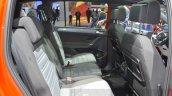 VW Touran R-Line rear cabin at the 2016 Geneva Motor Show Live