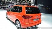 VW Touran R-Line rear quarter at the 2016 Geneva Motor Show Live