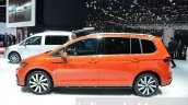 VW Touran R-Line side at the 2016 Geneva Motor Show Live