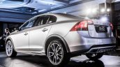 Volvo S60 Cross Country rear quarter launched in India
