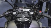 Yamaha R3 Matte Grey black trim at 2016 BIMS