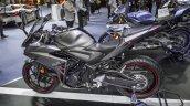 Yamaha R3 Matte Grey left side at 2016 BIMS