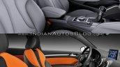2016 Audi A3 vs. 2012 Audi A3 front seats
