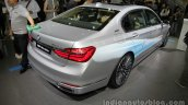 2016 BMW 740Le xDrive rear quarter at Auto China 2016